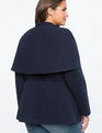 Peplum Cape Jacket Independence