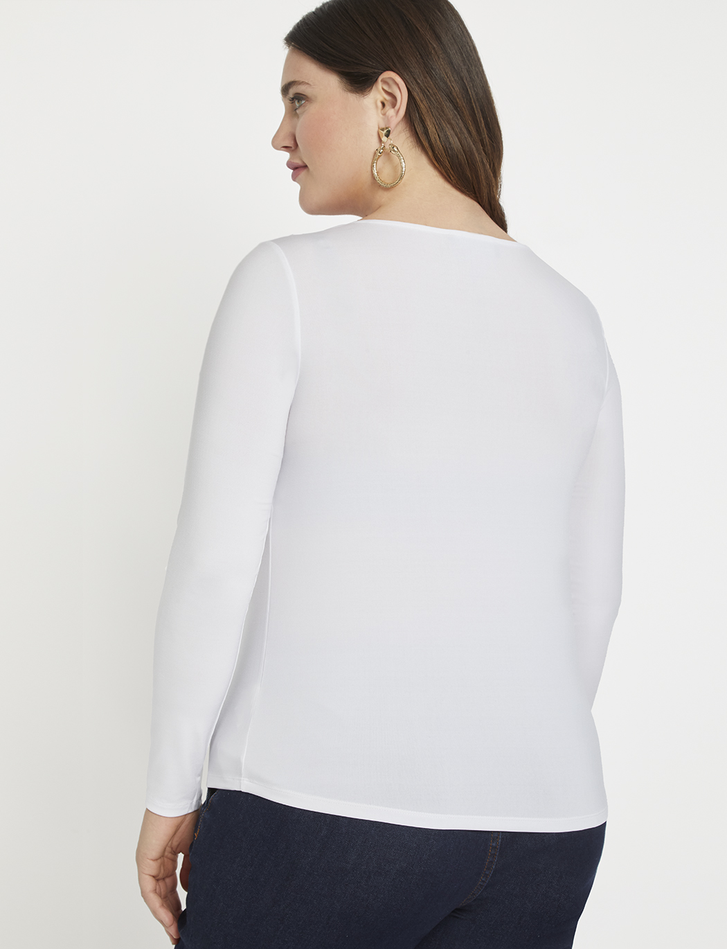 Twist Neckline Top