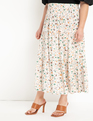 Tiered Midi Skirt Morning Glory