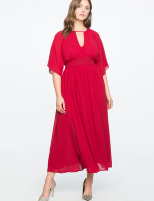 Split Sleeve Gown