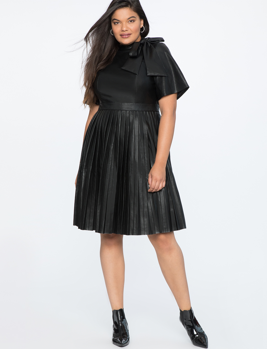 Plus Size Leather Dress – Fashion dresses