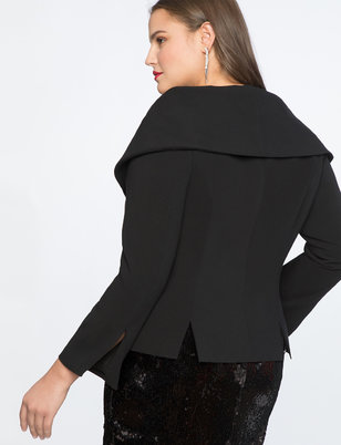 Dramatic Collar Jacket