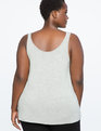 Basic Tank Light Heather Grey