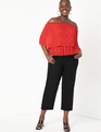 Off the Shoulder Blouse Valencia Dot