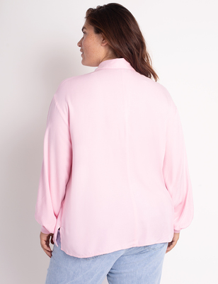 Drama Sleeve Utility Top