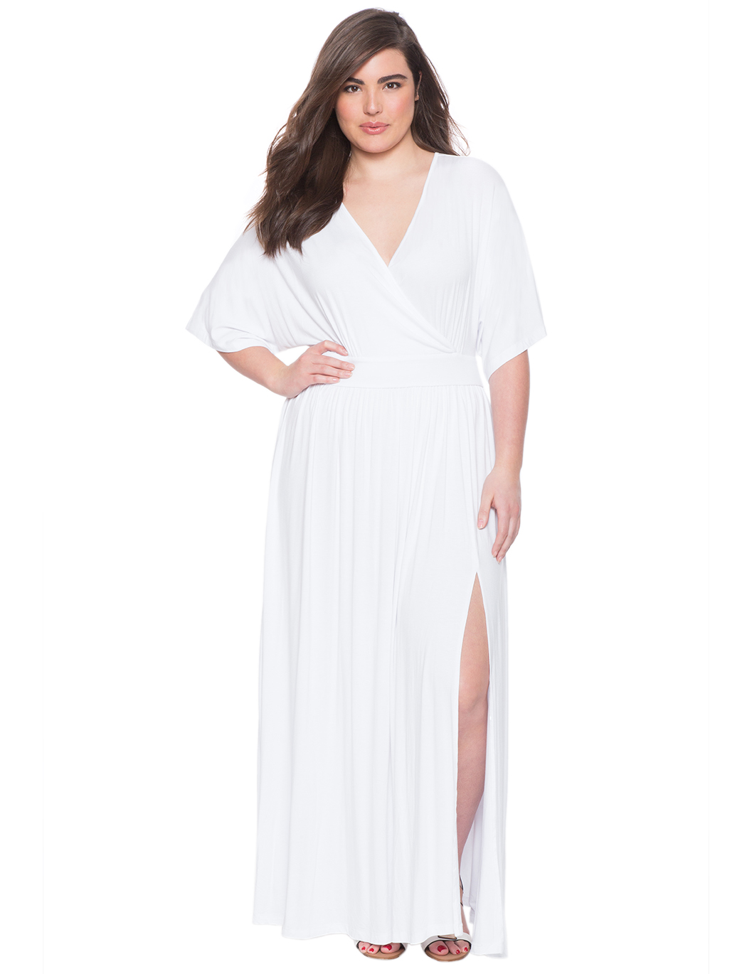 Kimono Maxi Dress | Women\'s Plus Size Dresses | ELOQUII