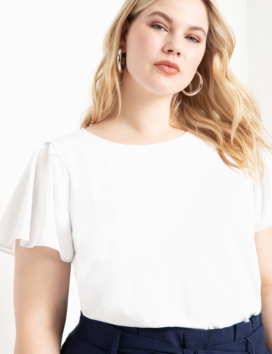 Dramatic Flare Sleeve Top 1