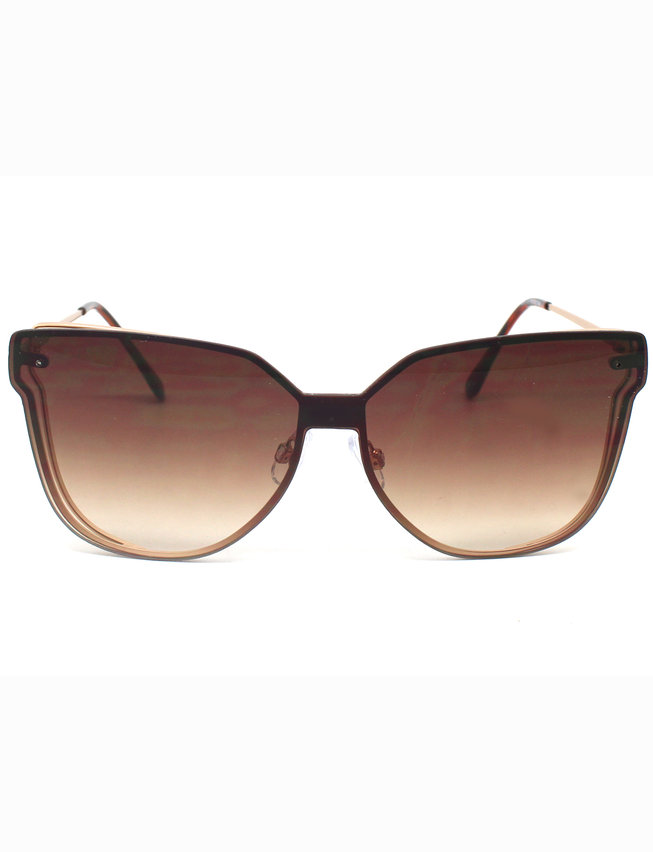 Shield Front Butterfly Sunglasses