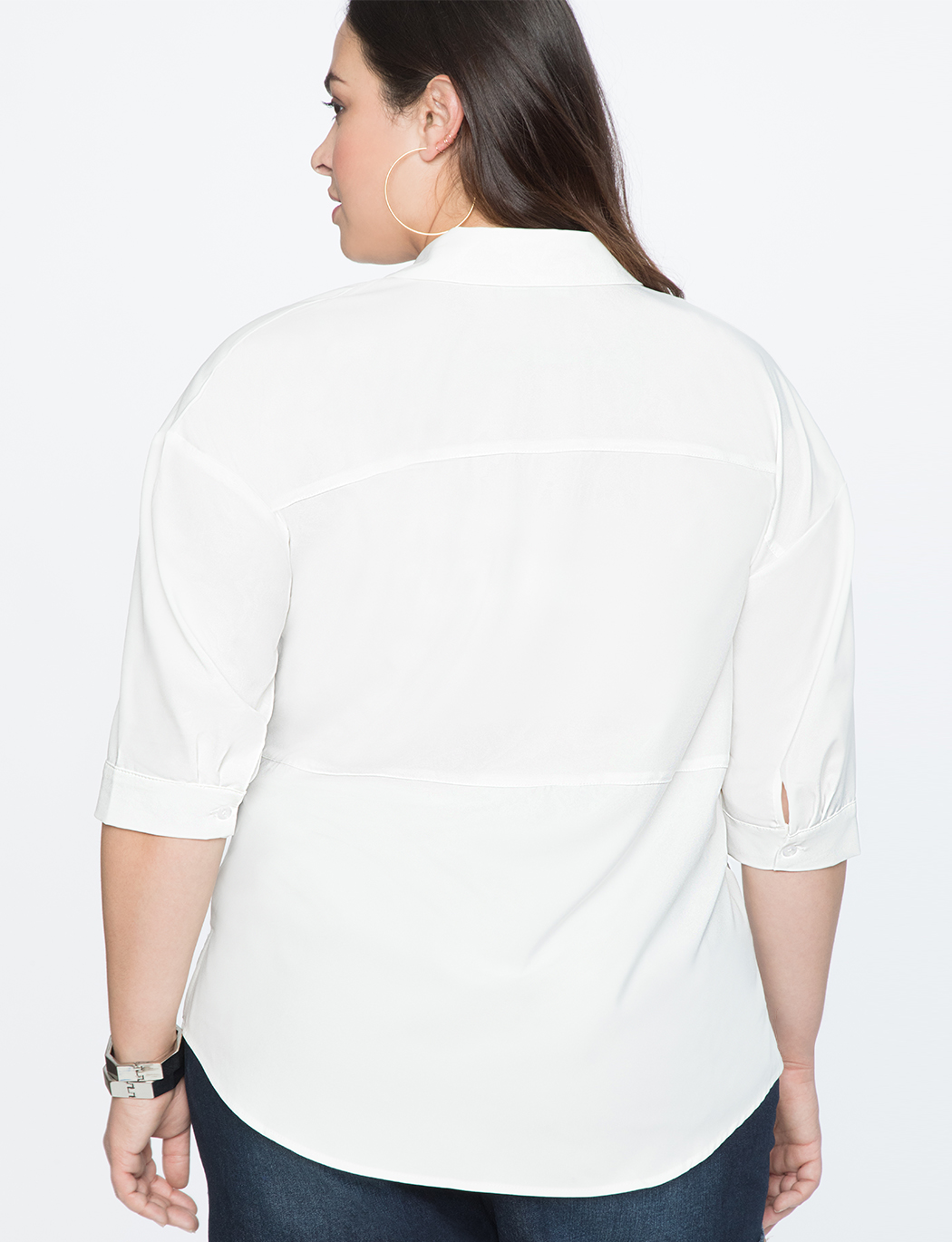 Drop Shoulder Tunic Top