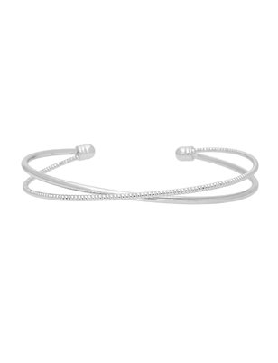 Cross Front Bangle