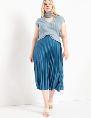Sunburst Pleated Skirt
