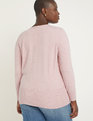 Wrap Front Sweater Pink Sand
