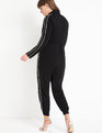 Jumpsuit with Rhinestones Black
