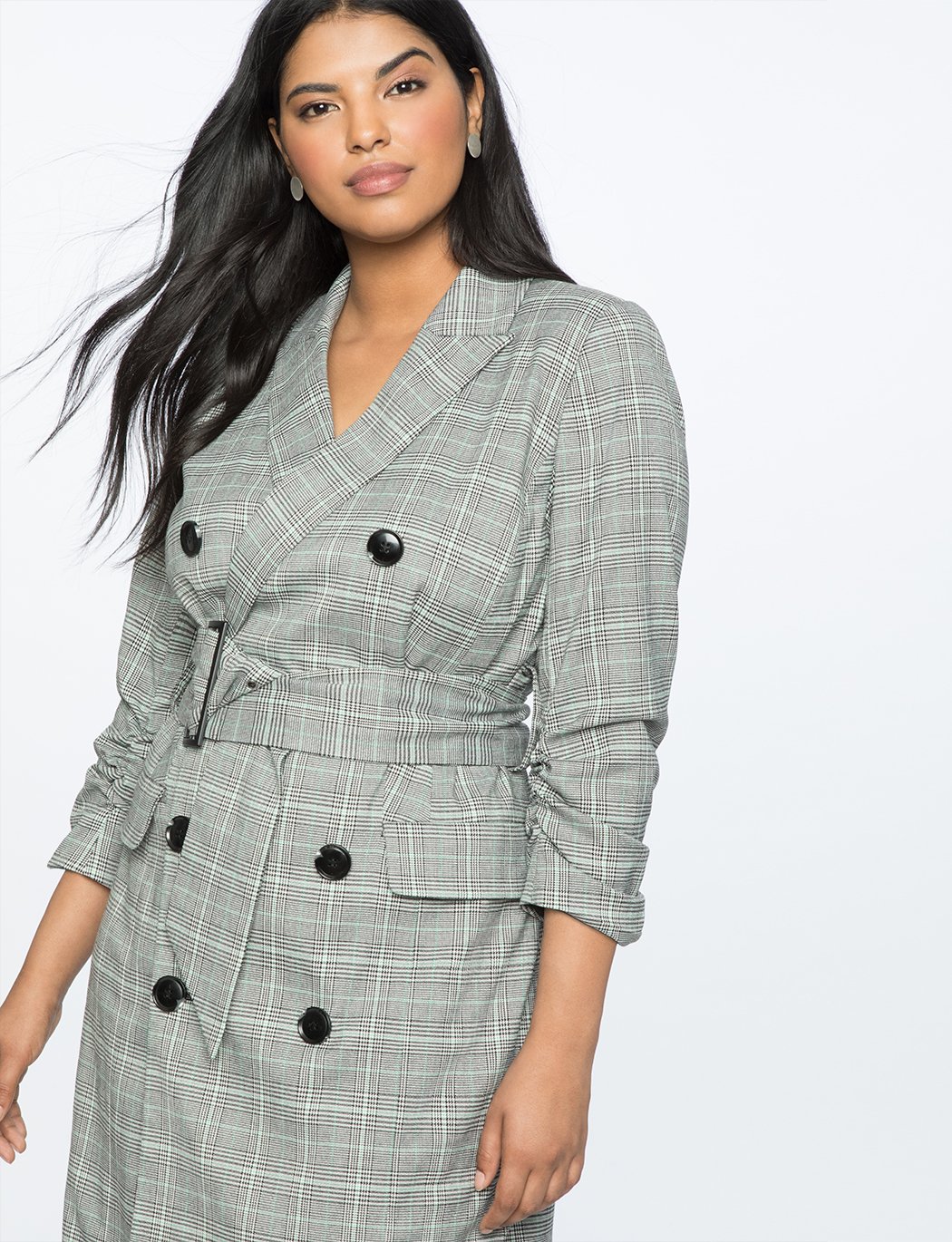 Double Breasted Blazer Dress | Women\'s Plus Size Dresses | ELOQUII