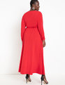 Wrap Maxi Dress Haute Red