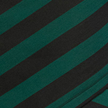 Botanical Green and Black Stripe