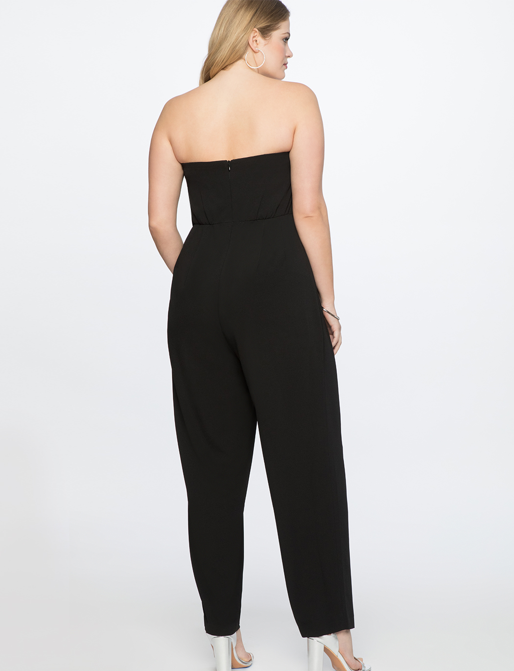 Sweetheart Neckline Wrap Jumpsuit