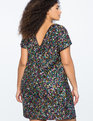 Sequin Shift Dress Multi-Color Sequin