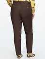 Kady Fit Double-Weave Pant Espresso Brown