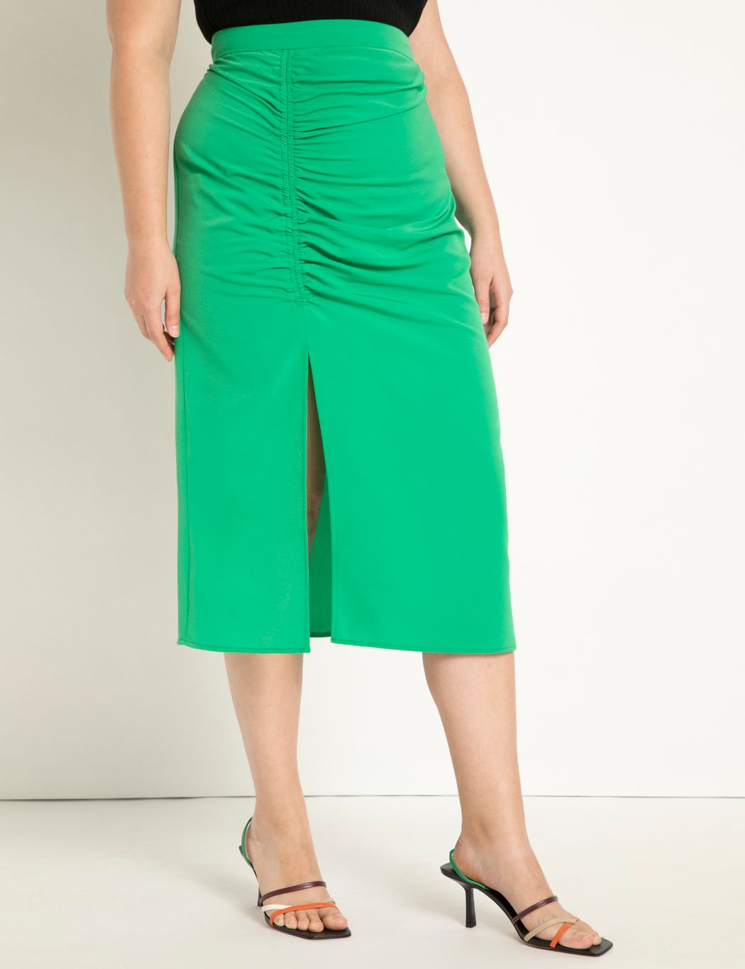 Ruched Tunnel Skirt