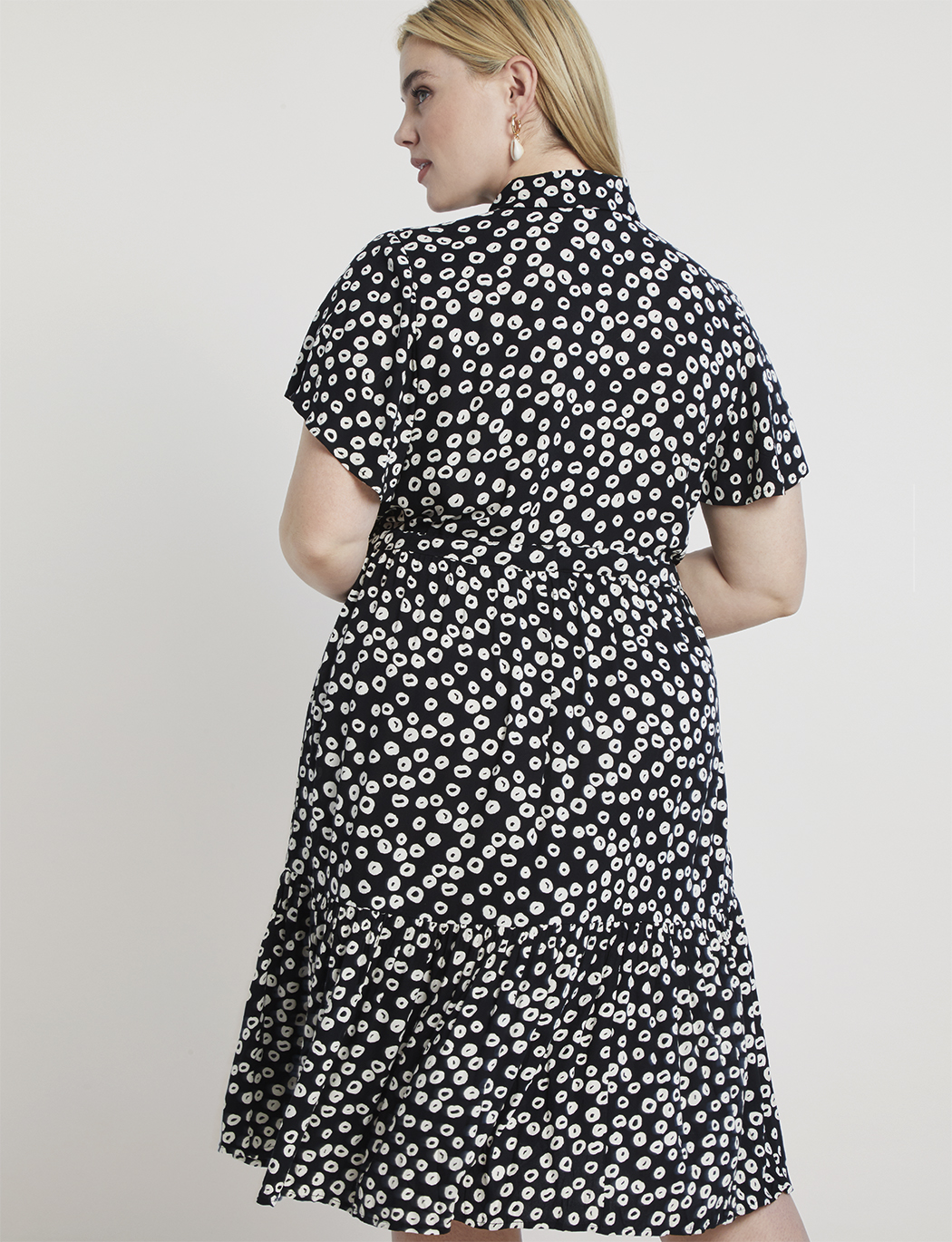 Printed Shirtdress