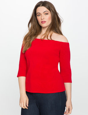 Off the Shoulder Ottoman Top