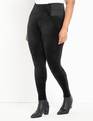 Miracle Flawless Legging with Velvet Front Black