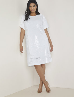 388b239ffe50 Plus Size White Dresses