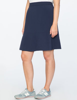 Draper James for ELOQUII Flounce Hem Skirt