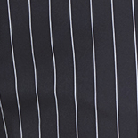Black + White Pinstripe