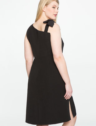 Tie Strap Dress with Side Slit