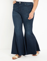 Bell Bottom Flare Leg Jean Dark Wash