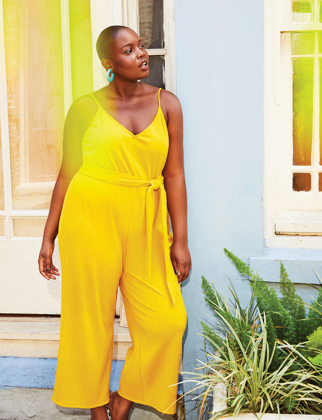 Sleeveless Cropped Jumpsuit