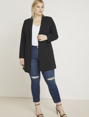 Long Tailored Blazer