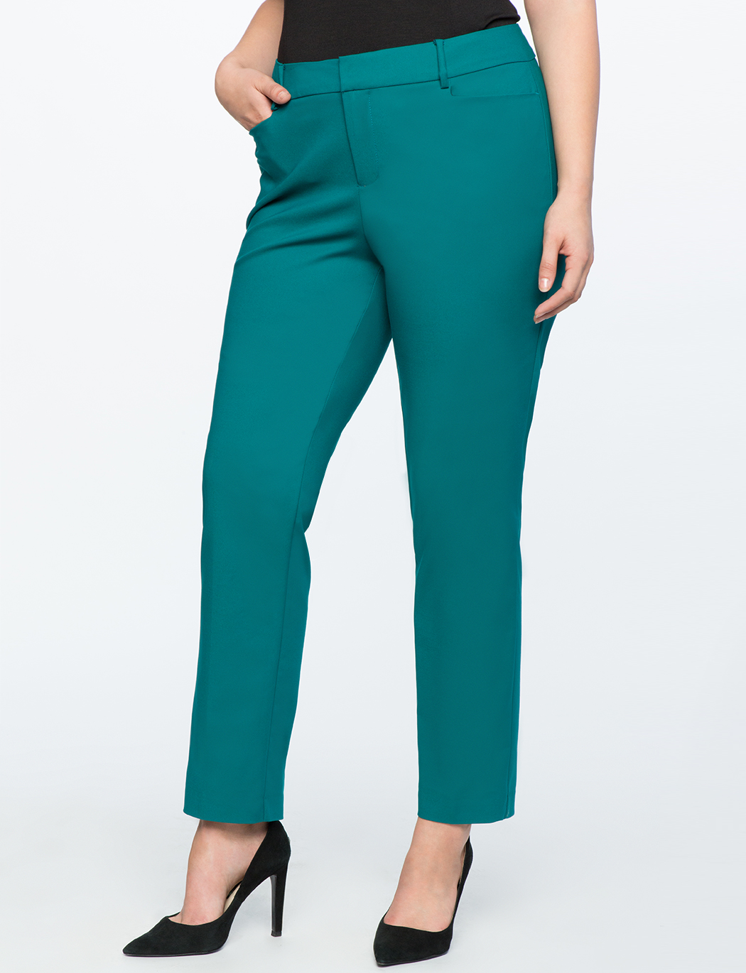 Kady Fit Double-Weave Pant 4