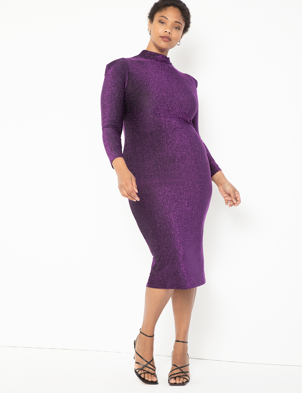 Turtleneck Bodycon Dress 7