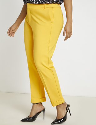 9-to-5 Ankle Cuff Pant