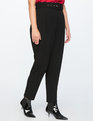 High Waisted Trouser with Belt Totally Black
