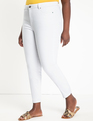 Classic Fit Peach Lift Jean White