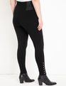 Miracle Flawless Legging with Pearl Detail Black