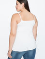 Thin Strap Cami WHITE
