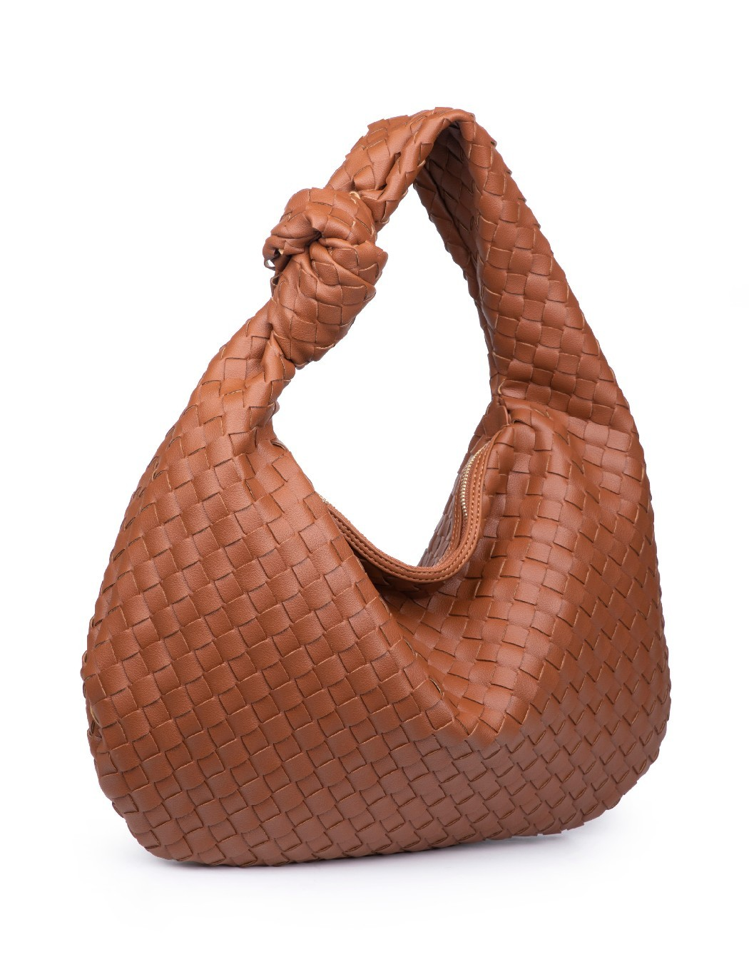 Woven Hobo Bag - Extended Length