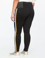 Miracle Flawless Side Stripe Leggings Black