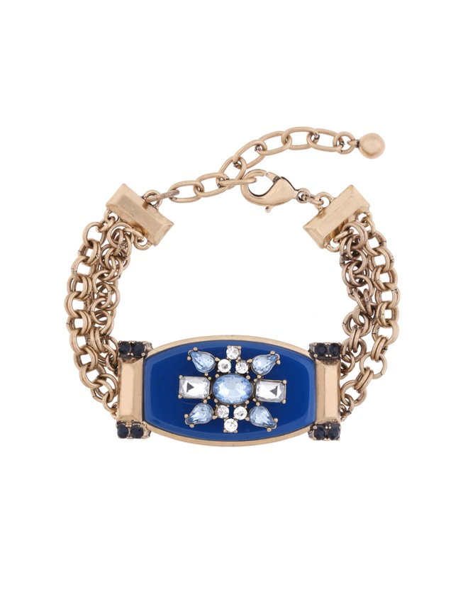 Antique gem statement bracelet women 39 s plus size jewelry for Plus size jewelry bracelets