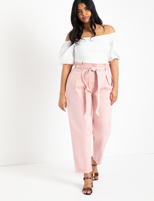 Paperbag Waist Relaxed Jean