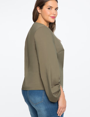 Dramatic Puff Sleeve Top