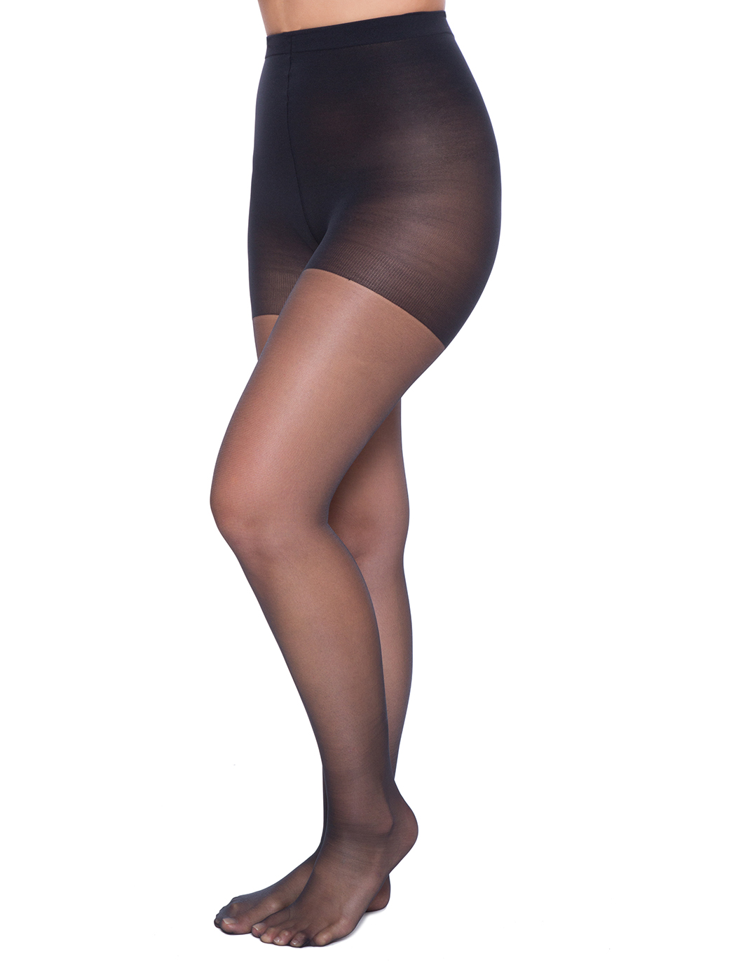 386db004c10b68 Sheer Tights with Control Top | Women's Plus Size Accessories ...