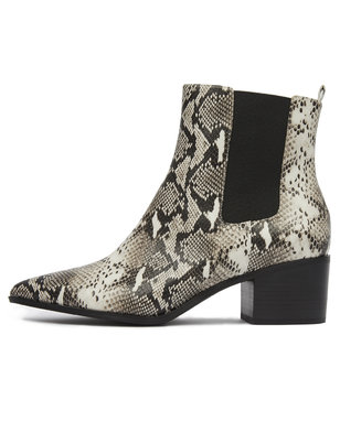 Rock It Pointed Toe Flat Bootie