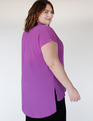 Short Sleeve Tunic Hibiscus