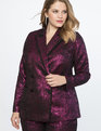 Brocade Jacket Pink + Black